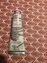 L'OCCITANE - Herbae - Crème mains