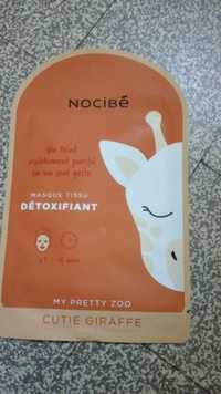NOCIBÉ - My pretty zoo - Masque tissu détoxifiant