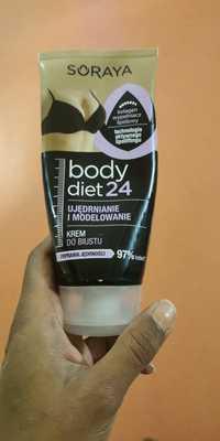 SORAYA - Body diet 24 - Krem do biustu ujedrnianie i modelowanie