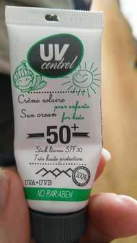 UV Control - Crème solaire 50+ stick lèvres SPF 30 pour enfants - Stick lèvres SPF30