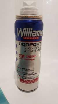 WILLIAMS - Confort pro - Gel crème de rasage