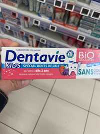 DENTAVIE - Kids spécial dents de lait - Dentifrice dès 2 ans