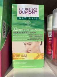 LAURENCE DUMONT - Bandes de cire froide naturelle pour sourcils & petit zones