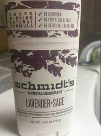 Schmidt's - Natural deodorant