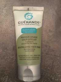 Guérande - Masque visage coup d'éclat - Hydratant aux plantes des marais