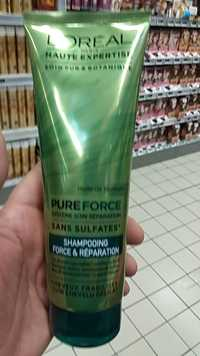 L'ORÉAL - Shampooing Haute expertise EverForce Force & Réparation