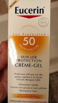 Eucerin - Sun leb protection - Crème-gel spf50