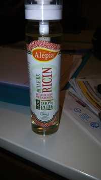 Alepia - Huile de ricin - Huile de soin pour cheveux