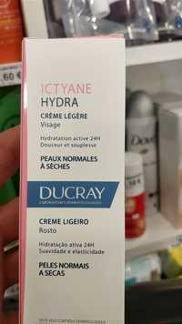 DUCRAY - Ictyane hydra - Crème légère visage