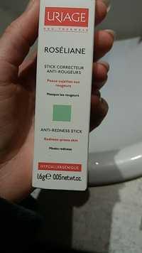 URIAGE - Roséliane - Stick correcteur, anti-rougeurs