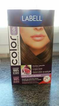 LABELL - Soin au lait de figue - Coloration permanente 6 blond foncé