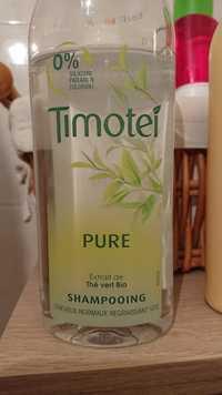Timotei - Pure extrait de thé vert bio - Shampooing