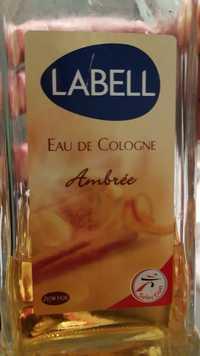 LABELL - Eau de cologne Ambrée