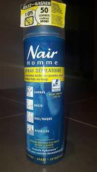 Nair - Homme - Spray dépilatoire