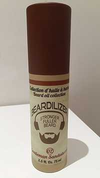 Beardilizer - Stronger fuller beard - Gentleman sandalwood 02