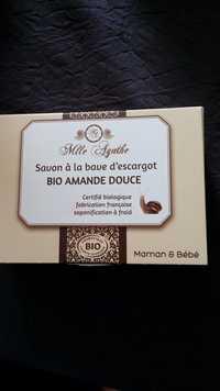 MLLE AGATHE - Bio amande douce - Savon à la bave d'escargot