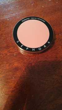 Sephora - Colorful nacré - Shimmer