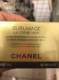 CHANEL - Sublimage - La crème yeux