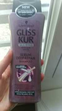 Schwarzkopf - Gliss kur - Serum deep-repair shampoo