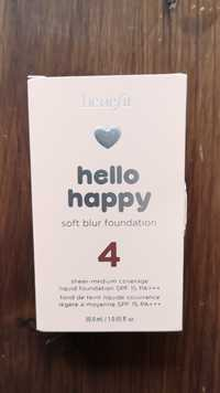 BENEFIT - Hello happy - Fond de teint liquide SPF 15 PA+++ 4