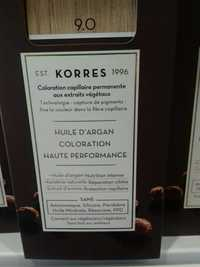 KORRES - Huile d'argan - Coloration haute performance