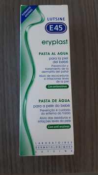 Lutsine E45 - Eryplast - Pasta al agua para la piel del bebé