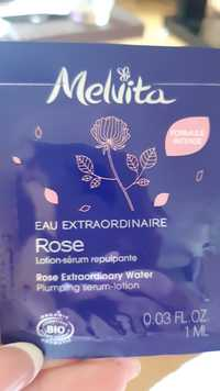 Melvita - Eau extraordinaire Rose - Lotion sérum repulpante