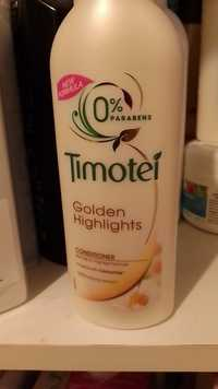 Timotei - Golden highlights - Conditioner