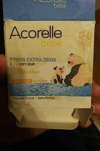 ACORELLE - Bébé - Savon extra doux