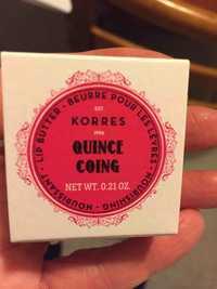 KORRES - Beurre pour les lèvres nourrissant