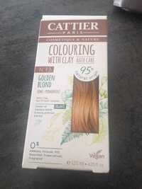 CATTIER - Couloring withe clay n° 73 golden blond