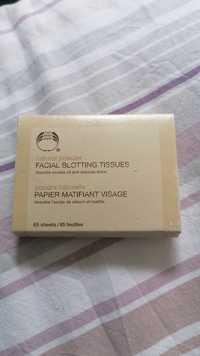 THE BODY SHOP - Papier matifiant visage - Poudre naturelle