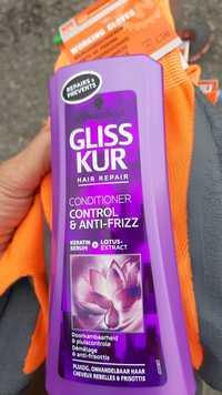 SCHWARZKOPF - Gliss kur hair repair - Conditioner control & anti-frizz