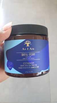AS I AM - Dry & itchy - Cowash Huile d'olive et arbre à thé