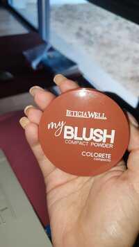 LETICIA WELL - My blush colorete - Compact powder color 51