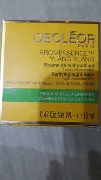 Decléor - Aromessence ylang ylang - Baume de nuit