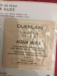 Guerlain - Lingerie de peau aqua nude - Fond de teint fluide 03N naturel