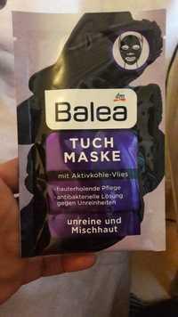 Balea - Tuch maske mit aktivkohle-vlies