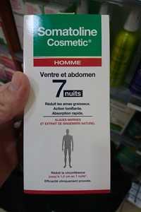 Somatoline Cosmetic - Homme - 7 nuits ventre et abdomen