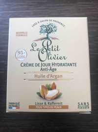 Le Petit Olivier - Huile d'argan - Crème de jour hydratante anti-âge