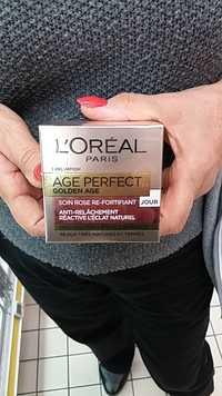 L'Oréal - Age perfect Golden Age - Soin rose re-fortifiant anti-relâchement réactive l'éclat naturel