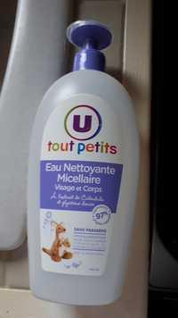 BY U - Tout petits - Eau nettoyante micellaire visage et corps