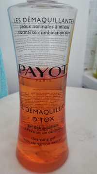 Payot - Gel démaquillant d'tox à l'extrait de cannelle