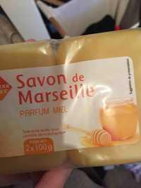 Leader Price - Savon de Marseille - Parfum miel