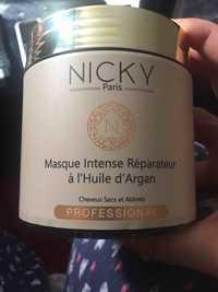 Composition Nicky Paris Masque Intense Reparateur A L Huile D