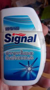 Signal - Système blancheur - Dentifrice