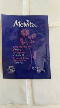 Melvita - Eau florale de Rose Ancienne - Hydratante