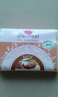 EMMA NOËL - Savonette de toilette végétale karité bio