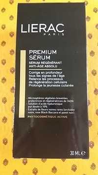 Liérac - Premium - Sérum régénérant anti-âge absolu