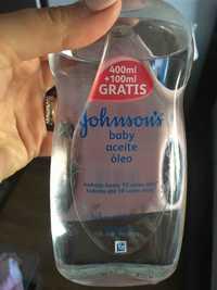 Johnson's - Baby aceite oleo